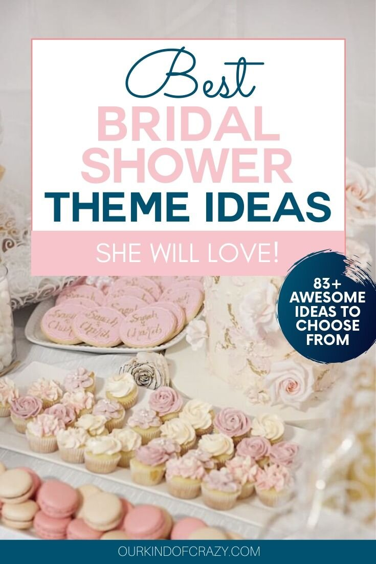 Best Bridal Shower Theme Ideas She will love