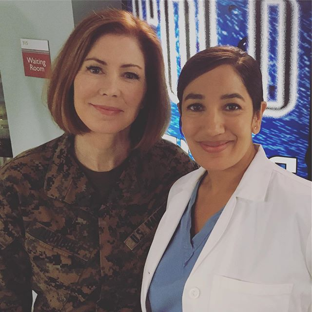 Tune in Tonight! 5/20 Monday CBS The Code Ep 7 Above the Knee #thecode #cbs #madeinny #madeinnewyork #brooklyn #onset #danadelaney #doctorpurva #purvabedimd