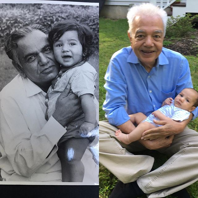 Generations of Bedi grandpas and grandsons on lawns #grandfather #grandson #whenpatriarchyiscute