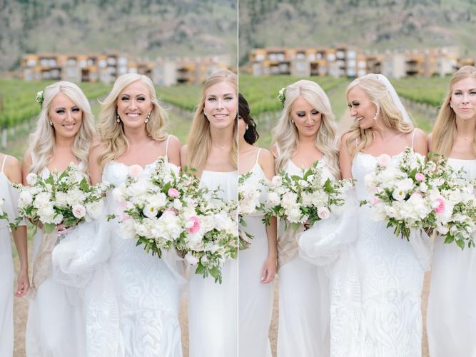 Bride Bridesmaids Bouquet Hair Makeup Dress Inspiration.jpg