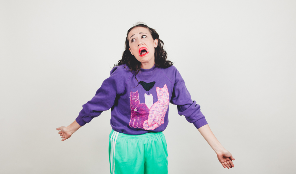 """""""It's easy to smile. You just share your teeth."""" - YouTube sensation, Miranda Sings"""
