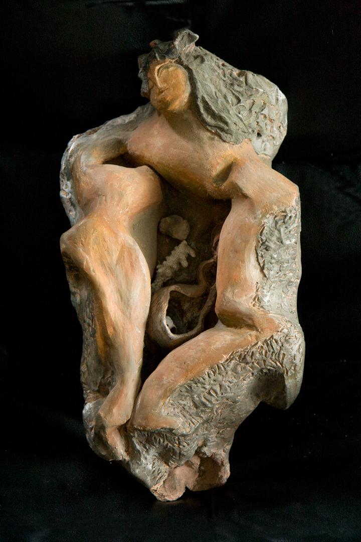 Sea Goddess, ceramic, 1988