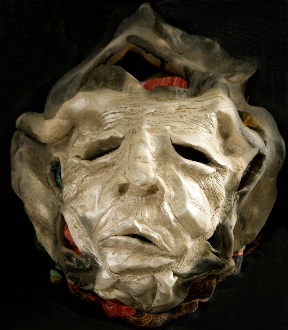 Old Woman, ceramic, 1988