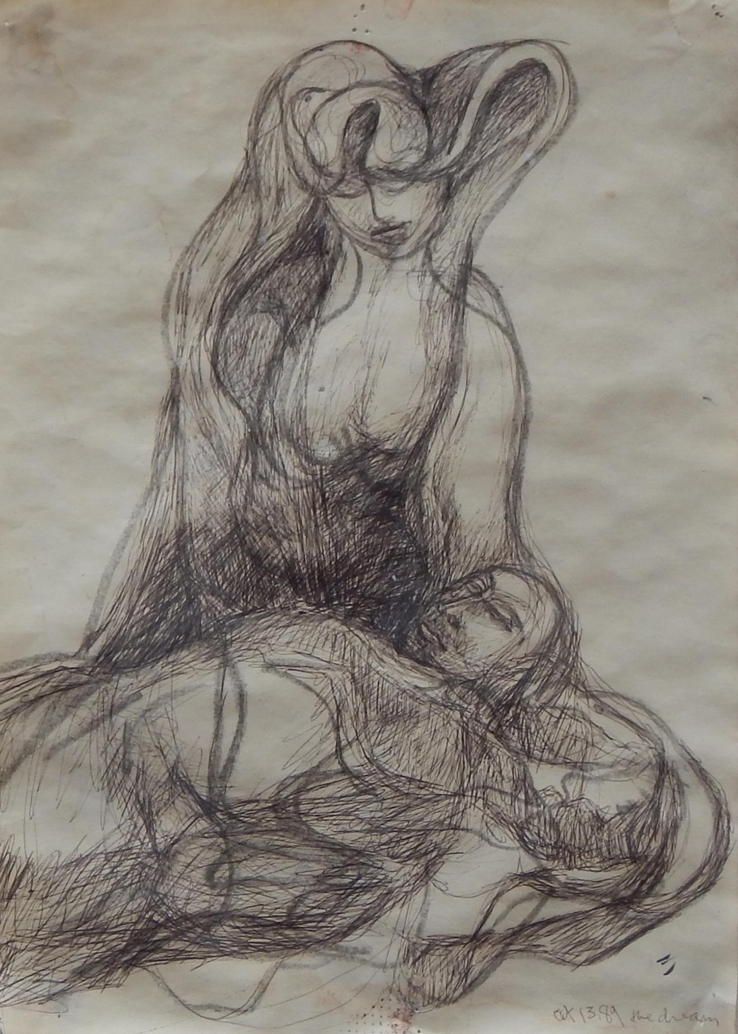Dream, pencil, 1989
