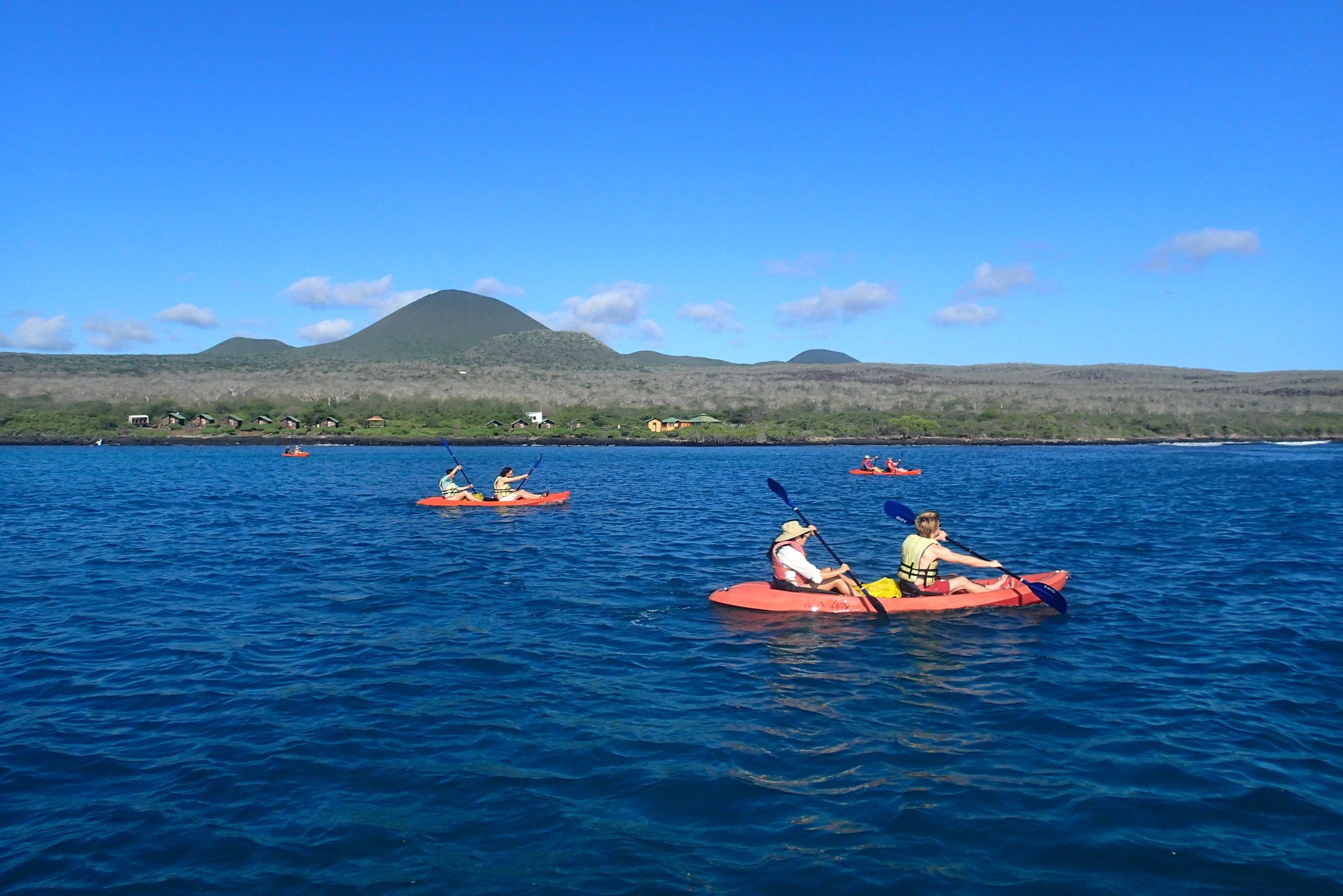 Floreana Island kayak