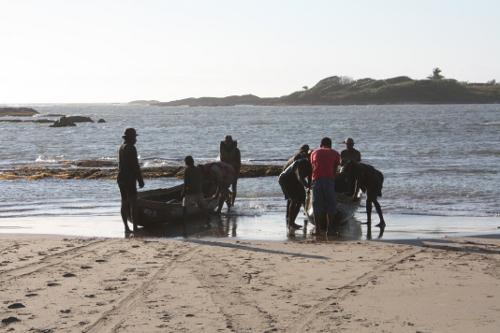 Madagascar lobster fishermen, sainte luce