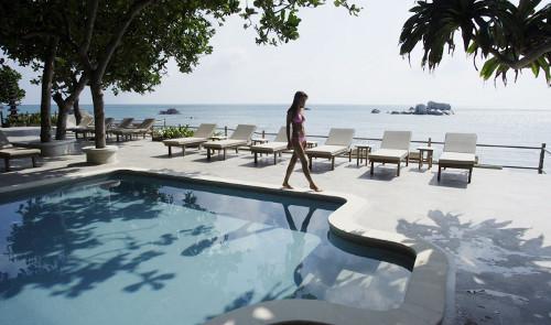 Nikoi Island salt water swimming pool