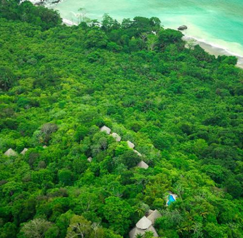 Lapa Rios, Osa Peninsula, Costa Rica: Central America's last remaining lowland dense tropical rainforest, wildlife corridor to Corcovado National Park, home to ~2.5% of the whole world's biodiversity; a private protected area conserved in perpetuity