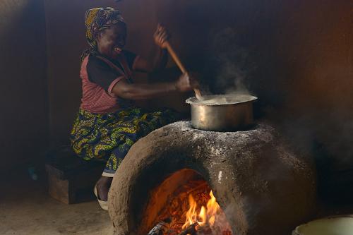 Cooking village visit Luwawa Malawi