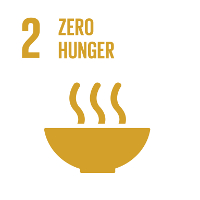 sdg #2: zero hunger Earth changers supports the Sustainable Development Goals