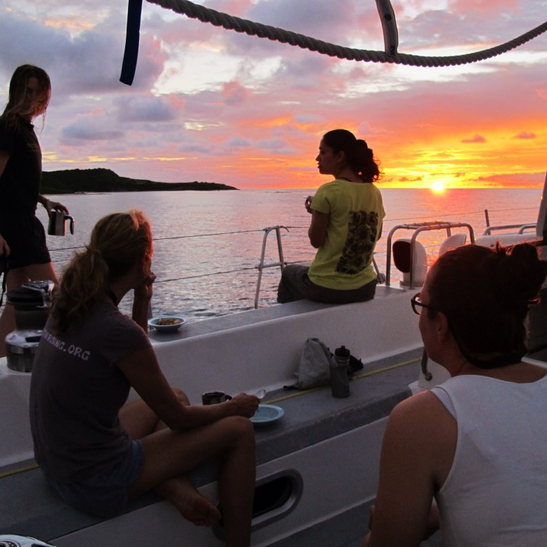 Sunset, Pangaea Exploration