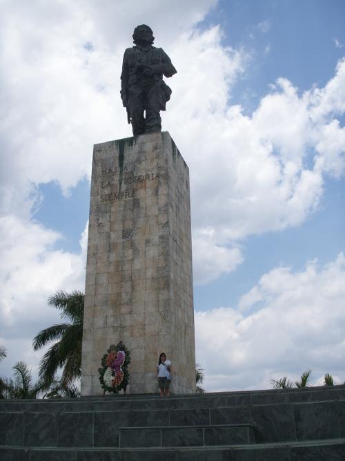 Hasta la victoria siempre (ever onwards to victory): at the che guevara monument, Santa Clara, cuba