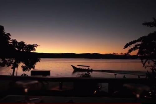 JIcaro Island Ecolodge sunset