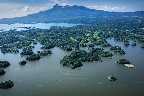 The Isletas de Granada on Lake Nicaragua