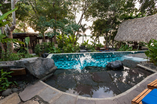 Jicaro Island Ecolodge Pool