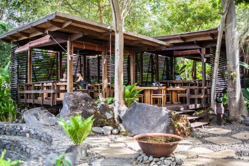 Jicaro Island Ecolodge Restaurant