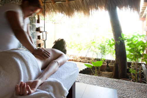 Jicaro Island spa massage