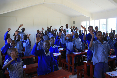The Kanzi Academy, for gifted students from KUKU group ranch