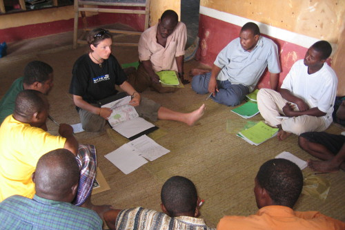 Chumbe Island Teacher training