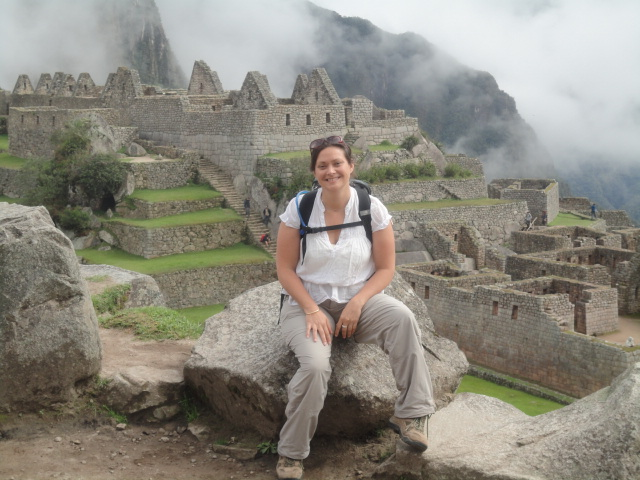 Vicky Earth Changers Founder (at Machu Picchu, Peru)
