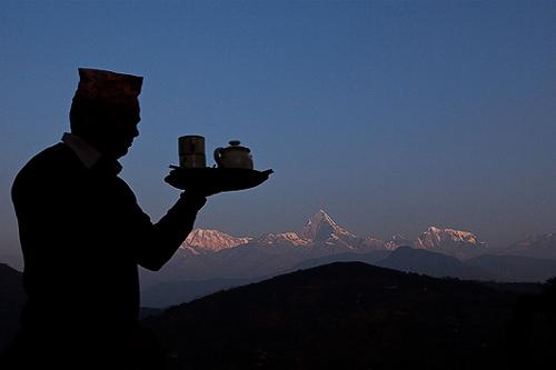 Tiger Mountain Pokhara Lodge, Nepal - Chhettra Kumal silhouette