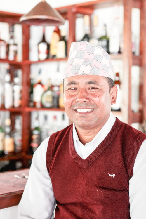 Tiger Mountain Rooms Manager - Dol Raj Shrestha
