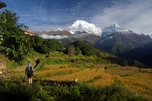 Tiger Mountain Pokhara Lodge - trek in the Annapurna area, Nepal