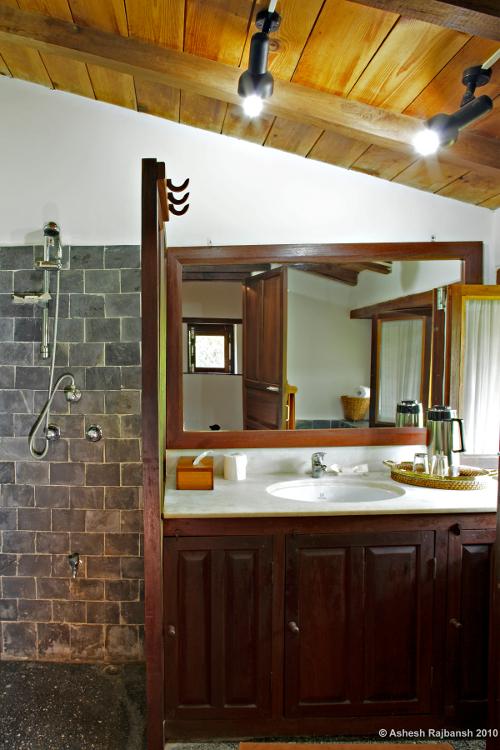 Tiger Mountain Pokhara Lodge, Nepal - Bathroom