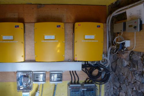 energy metering, Campi ya Kanzi, Kenya