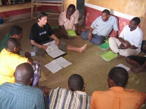 teacher training Chumbe Island, Tanzania
