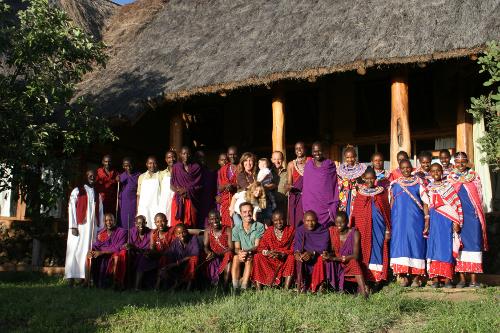 The team at Campi ya Kanzi, Kenya