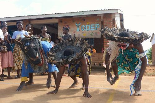 Dancing Villagers, Malawi