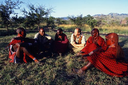 Campi ya Kanzi Kenya's luca and maasai scouts meeting
