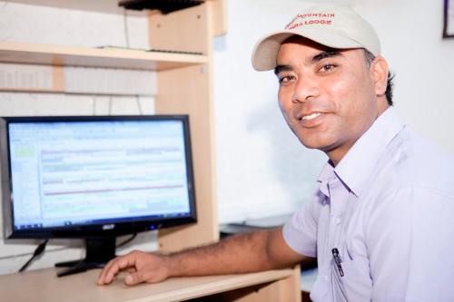 Ishwar Basnet, admin Manager, Tiger Mountain Pokhara Lodge, nepal