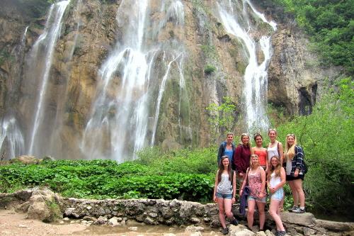 Linden Tree Retreat Ranch hiking waterfall
