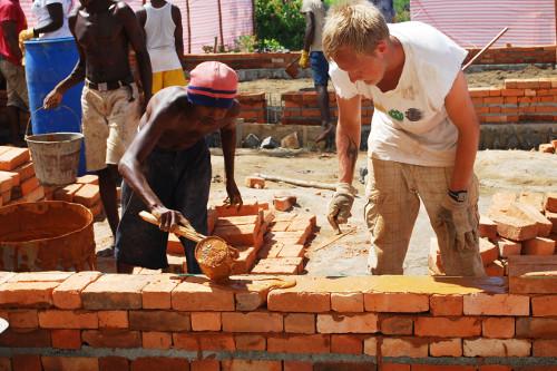 construction on vital madagascar projects