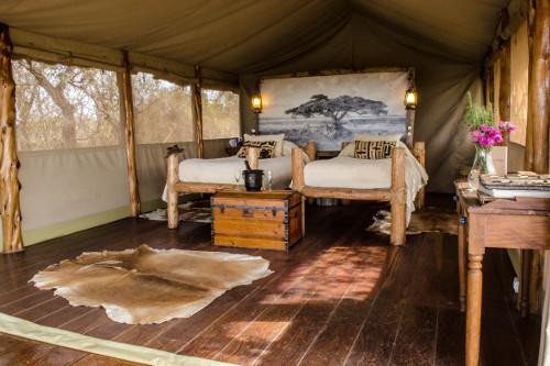 Campi ya Kanzi twin tent