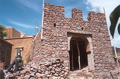 Rebuilding the Kasbah du Toubkal