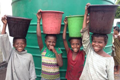 SEED Madagascar Project Tatirano Rainwater Harvesting
