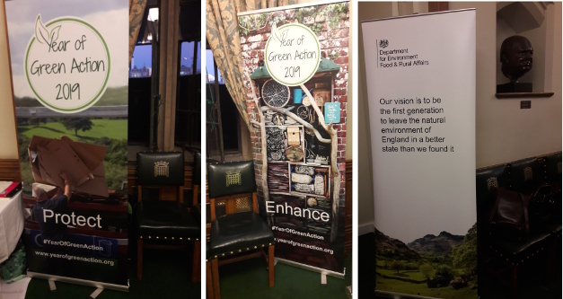 Connect, Protect & Enhance in the Churchill Room at the Parliament Launch of the #YearofGreenAction