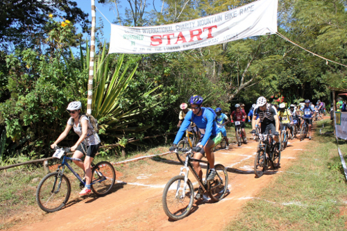 Create a group charity challege in malawi