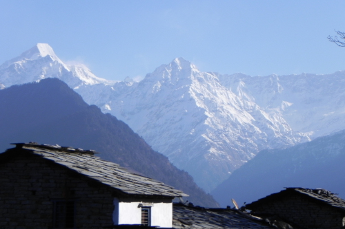 India Dhurr village, Pindar Valley & Mountains