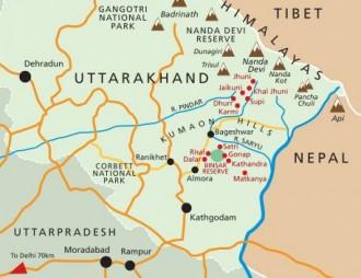 India Village Ways region