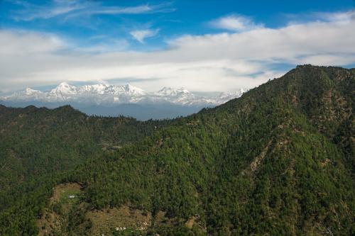 India Village Ways view from Binsar