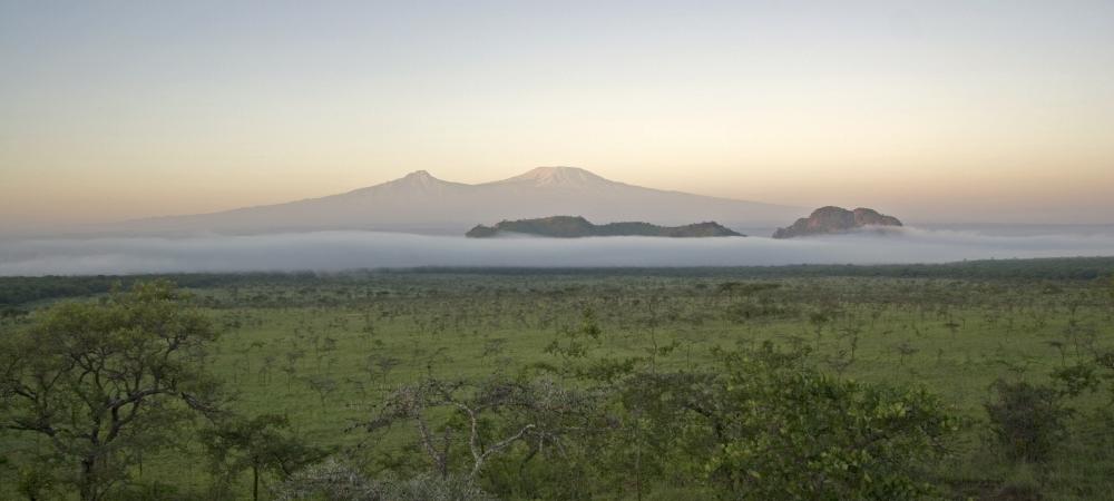 Mount Kilimanjaro from Campi ya Kanzi, Kenya