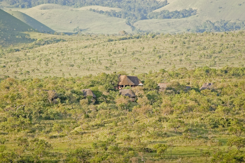 Campi ya Kanzi setting in the Chyulu Hills