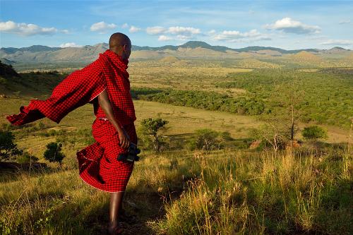 Chyulu - Hemingway's Green Hills of Africa by Gary & Myrna Paige