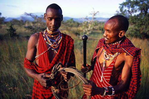 Maasai scouts