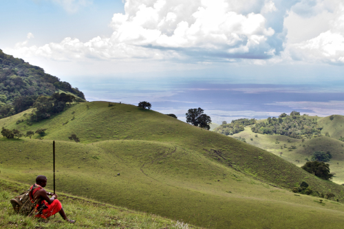 The Chyulu Hills - Hemingway's Green Hills of Africa