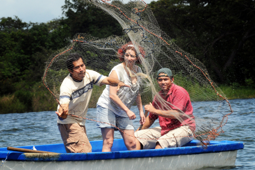 Participate in local traditional fishing methods in Nicaragua